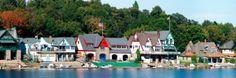philadelphia - Boat houses