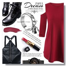 """dream"" by fashion-pol ❤ liked on Polyvore featuring Love Quotes Scarves and Chanel"