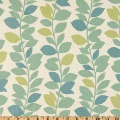 54'' Wide Waverly Leaf Garland Spa Fabric By The Yard by Waverly, http://www.amazon.com/dp/B0046V9XQG/ref=cm_sw_r_pi_dp_J3x-pb03ZEB27