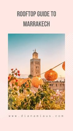 Discover the most beautiful rooftop restaurants you should visit in Marrakech for the greatest Moroccan food and some epic sunset views! Visit Marrakech, Visit Morocco, Morocco Travel, Ireland Vacation, Ireland Travel, Galway Ireland, Cork Ireland, Egypt Travel, Africa Travel