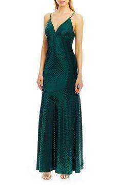 Nicole Miller New York Sequin Gown