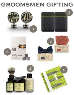 Groomsmen gifting » Pearls for Paper