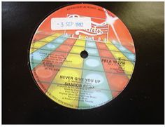At £6.98  http://www.ebay.co.uk/itm/Sharon-Redd-Never-Give-You-Up-Prelude-Records-12-Single-PRLA-13-2755-/261098546316