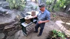 rocket stove cooking - YouTube