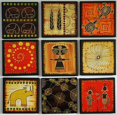 Using Art and Crafts in African Decor Arte Tribal, Tribal Art, Kunst Der Aborigines, African Quilts, Casamance, Sculptures Céramiques, Africa Art, African American Art, African Design
