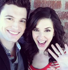Bryan Dechart and Erica Dasher. Jane by Design!