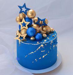 Elegant Birthday Cakes, Beautiful Birthday Cakes, Birthday Cake For Him, First Birthday Cakes, Cake Designs For Girl, Cake Decorating Designs, Decorating Ideas, Christmas Cake Designs, Beautiful Cake Designs