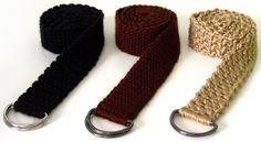 Crochet Spot » Blog Archive » Crochet Pattern: Everyday Adjustable Belts - Crochet Patterns, Tutorials and News