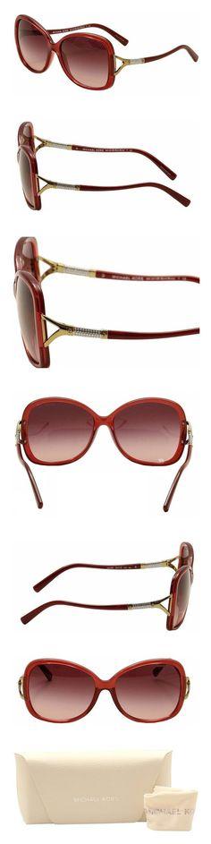 85f09897da38 Amazon.com: Michael Kors Bora Bora Sunglasses MK2010B 30428H Milky Burgundy  Burgundy Gradient 60 16 135: Shoes