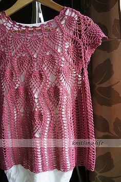 Ravelry: #12 Tunic pattern by Olympus Design (オリムパスデザイン室)