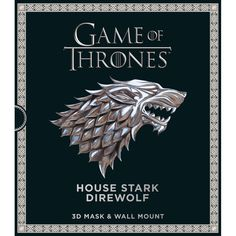 Buy Game of Thrones House Stark Direwolf Mask and Wall Mount by Steve Wintercroft online from The Works. Visit now to browse our huge range of products at great prices.