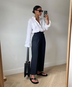 Cute Casual Outfits, Chic Outfits, Fashion Outfits, Womens Fashion, Urban Fashion Girls, Casual Chic Style, Minimal Fashion, Work Fashion, Minimal Outfit