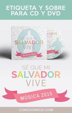 Sé que mi Salvador vive - Etiqueta y Sobre para la música de la Primaria SUD 2015. Links de descarga de Música y Videos!