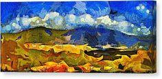 Avila Mountain Canvas Print by Riccardo Zullian