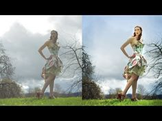 ▶ Photoshop photo editing: How to fix backlit (back lit) images: bright and well contrasted - YouTube