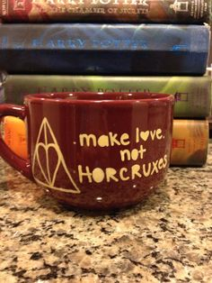 Buy from my friend you can find her things on Etsy.com here is a sample....Harry Potter Mug by FindYourHorcrux on Etsy, $20.00