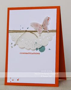 Stampin' Up! Demonstratrice Janneke : Congratulations | Stampin' Up!