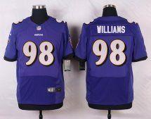 #98 Brandon Williams Baltimore Ravens Elite Jersey