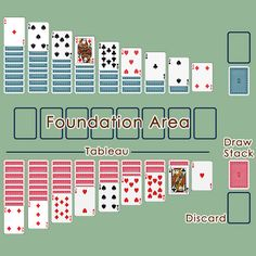 Double Solitaire Layout