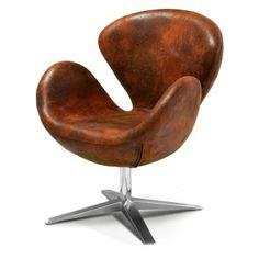 Best Selling Home Decor Modern Brown Petal Chair
