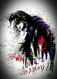 Joker why so serious Batman Joker Wallpaper, Joker Iphone Wallpaper, Graffiti Wallpaper, Joker Wallpapers, Marvel Wallpaper, Iphone Wallpapers, Der Joker, Heath Ledger Joker, Joker Images