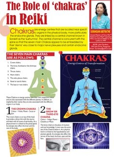 Reiki Chakras - Find out more at http://reikihealingsite.com/reiki-chakras/