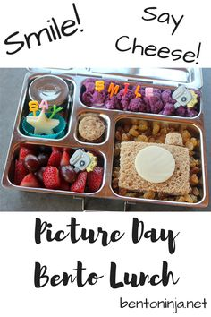 Smile! School Picture Day PlanetBox Rover Bento Lunch