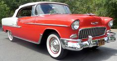 1955 Chevrolet Bel Air Convertible - band find - stored for 20 years