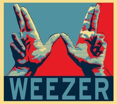 Weezer will play at a party of mine Music Love, Music Is Life, Good Music, My Music, Weezer, Band Posters, Music Posters, All About Music, Concert Posters