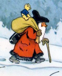 Fritz Baumgarten (German 1883-1966) - Teddy's Weihnachten