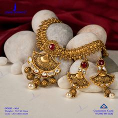 Get In Touch With us on Jewelry Design Earrings, Gold Earrings Designs, Necklace Designs, Indian Jewelry Earrings, Gold Bangles Design, Gold Jewellery Design, Silver Jewellery, Antique Jewellery Designs, Handmade Jewellery