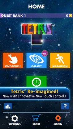 Top iPhone Game #32: TETRIS® - Electronic Arts by Electronic Arts - 04/03/2014