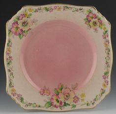 ROYAL WINTON GRIMWADES PLATE, APPLE BLOSSOM, 1930
