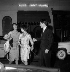 Romy Schneider and Alain Delon, 1963 Romy Schneider Alain Delon, Magda Schneider, Club, Sunday Kind Of Love, Ella Fitzgerald, Louis Armstrong, Marlon Brando, Classic Films, Grace Kelly