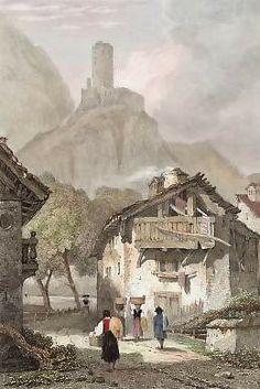 Martigny, Valais, Switzerland (1830)
