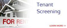 Get Excellent Tenant Screening Services Tenant Screening Services, Real Estate Services, Property Management