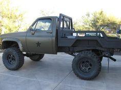 Farm Trucks, Diesel Trucks, Cool Trucks, Jeep Cars, Jeep Truck, Toyota Trucks, Chevy Trucks, Custom Truck Flatbeds, Jacked Up Chevy