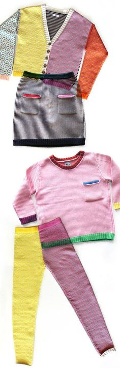 Extremely not mad that this colorful explosion of knitwear!