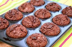 Breakfast Muffins: 8 Recipes for a Great Way to Start the Day - Part 3 Chocolate Muffins, Chocolate Recipes, Breakfast Muffins, Breakfast Recipes, Vegetarian Food List, My Favorite Food, Favorite Recipes, Recipe For 1, Dukan Diet