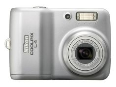 Nikon Coolpix L4 4MP Digital Camera with 3x Optical Zoom -- ** AMAZON BEST BUY **