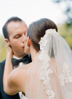 Image result for mantilla veil updo