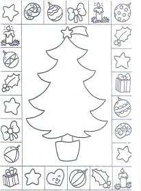 free s christmas tree and coloring pages printable and coloring book to print for free. Find more coloring pages online for kids and adults of free s christmas tree and coloring pages to print. Christmas Tree Cards, Colorful Christmas Tree, Christmas Colors, Xmas Cards, Christmas Activities For Kids, Easy Christmas Crafts, Christmas Printables, Kids Christmas, Easy Crafts