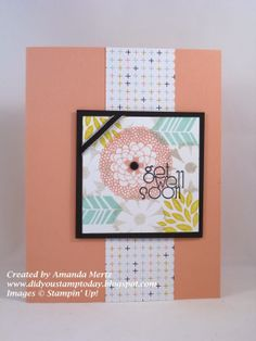 Sweet Sorbet Get Well by Amanda Mertz - Did you stamp Today?