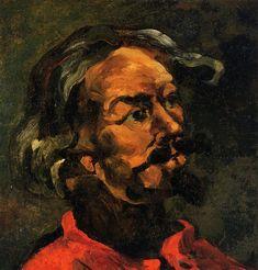 Portrait of Achille Emperaire. Paul Cezanne, 1868
