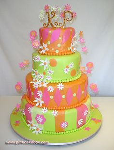 Google Image Result for http://images.pinkcakebox.com/cake126a.jpg I'd rather have this cake for my birthday....it already has my initials on it!!