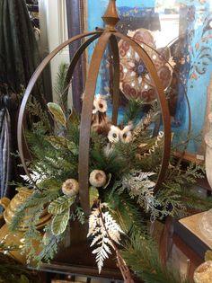 Winter decorating & centerpiece ideas