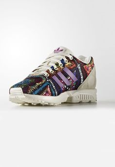 Sneakers laag adidas Originals ZX FLUX - Sneakers laag - off-white  Multicolor: €