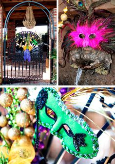 Mardi Gras shoot by @margaret williams Creative Co. {prettymyparty.com} #mardigras #party