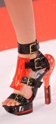 Alexander McQueen S S 2014 shoes (Accessories Show) f21295ef803