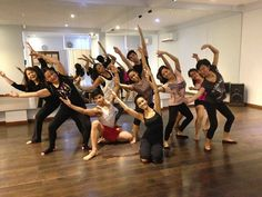 August 28, 2014: Daloy DC Beginners Contemporary Class